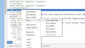 コピーできないサイトのHTMLをコピペする方法